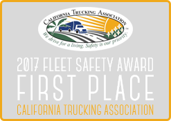 2017 Fleet Safety Award